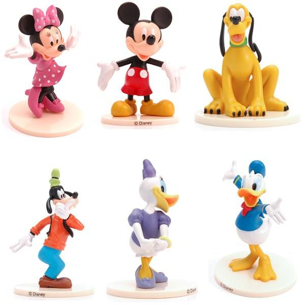 Custom Made Lovely cartoon figure PVC Sweet candy Toys Cake Topper