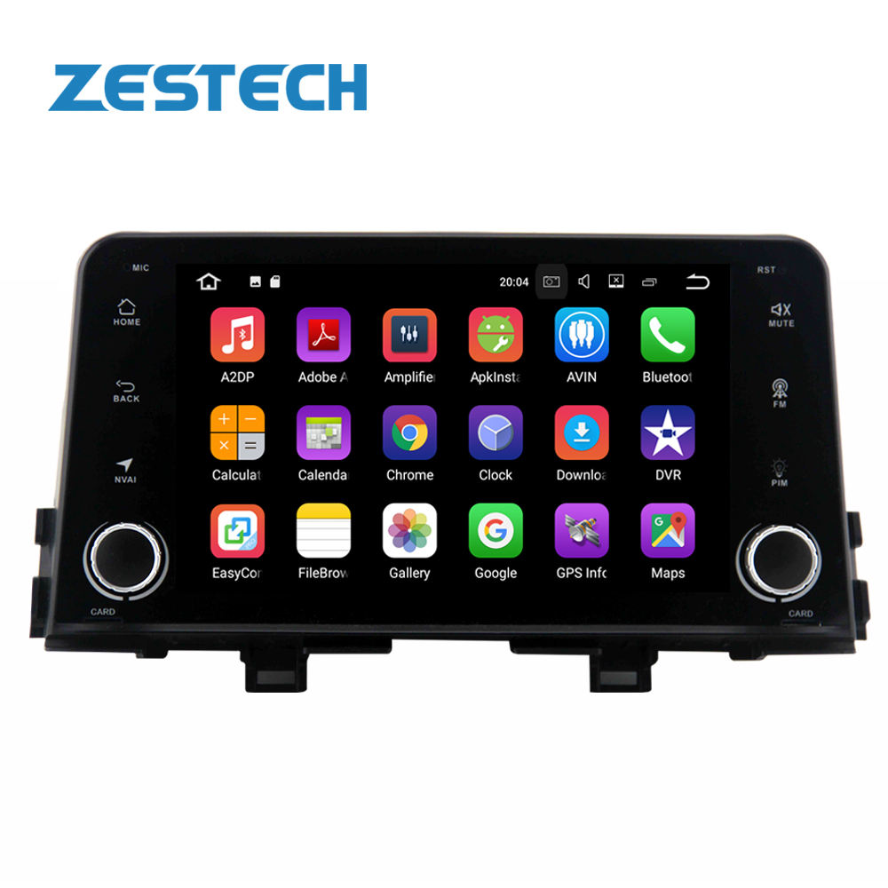 Quad core 1 din android touch screen multimedia Voor kia picanto ochtend autoradio android met gps navigatie