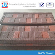 popular classic colorful stone coated metal roofing tile