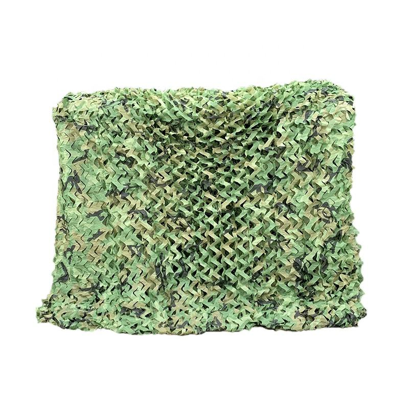 Durable military camouflage net roll, jungle camouflage net