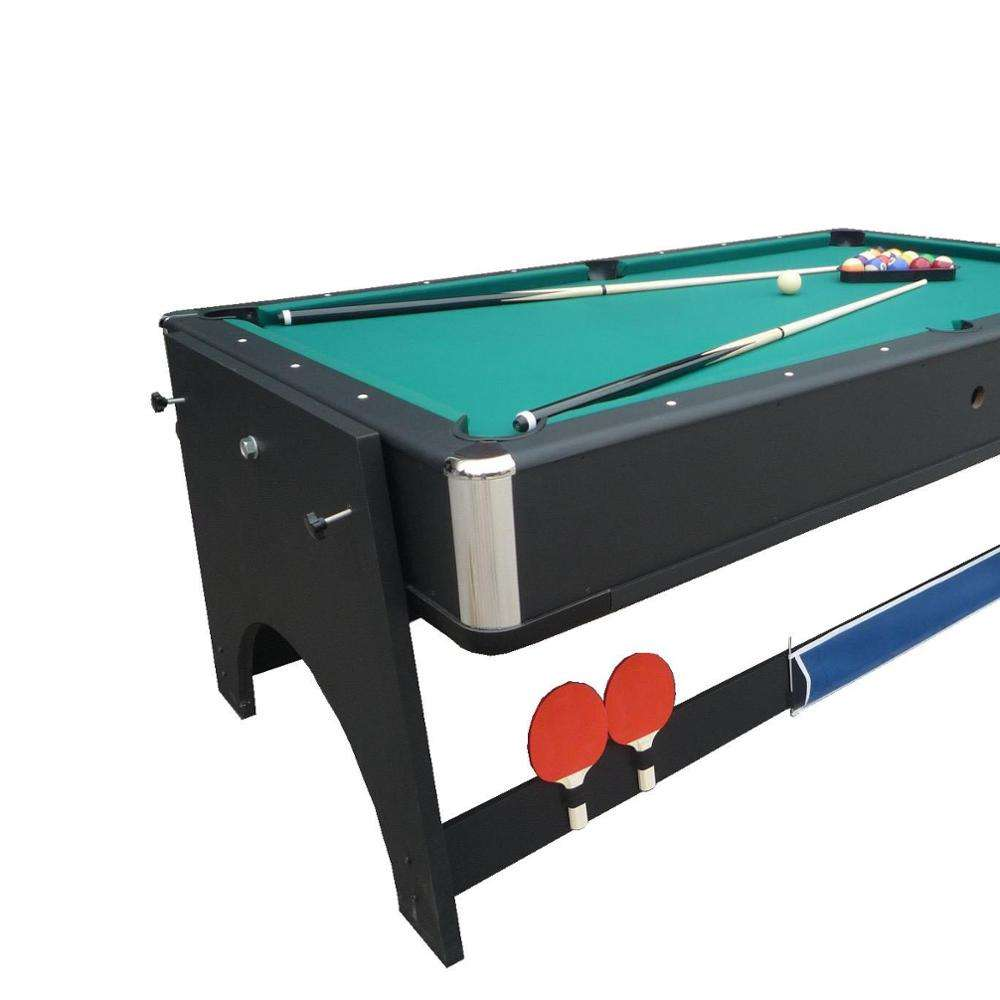 KBL-B1204 4 in 1 Multi-Game Tables Pool table, hockey table, tennis table and dining table