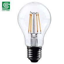 Colshine led filament bulb a60 full glass light source