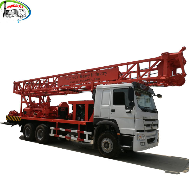 400m Truck Mounted boring Borehole water Well Drilling Rig