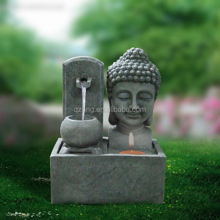 Di alta Qualità Desk Table Top Caratteristica Dell'acqua Buddha