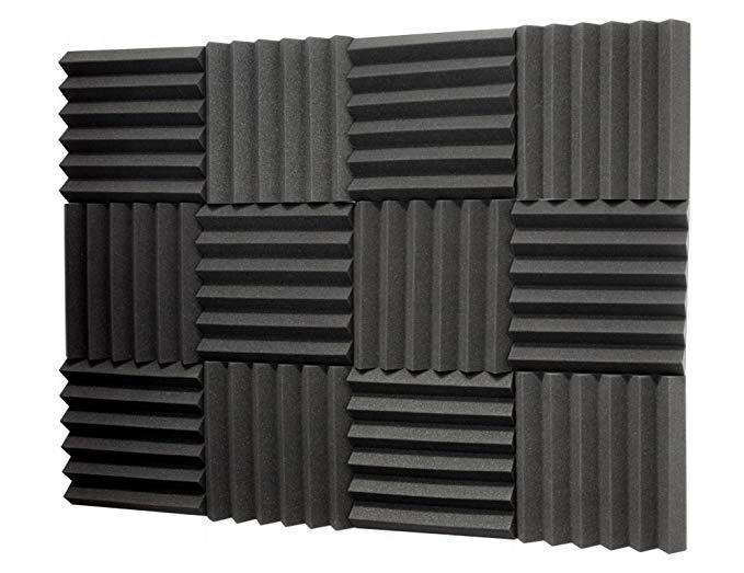 BONNO Double Thick Acoustic Foam Tiles Acoustic Foams For Sound Proof