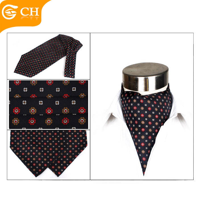 Top quality Ascot Customized Warmer Men's Ascot Handsome Ascot for men