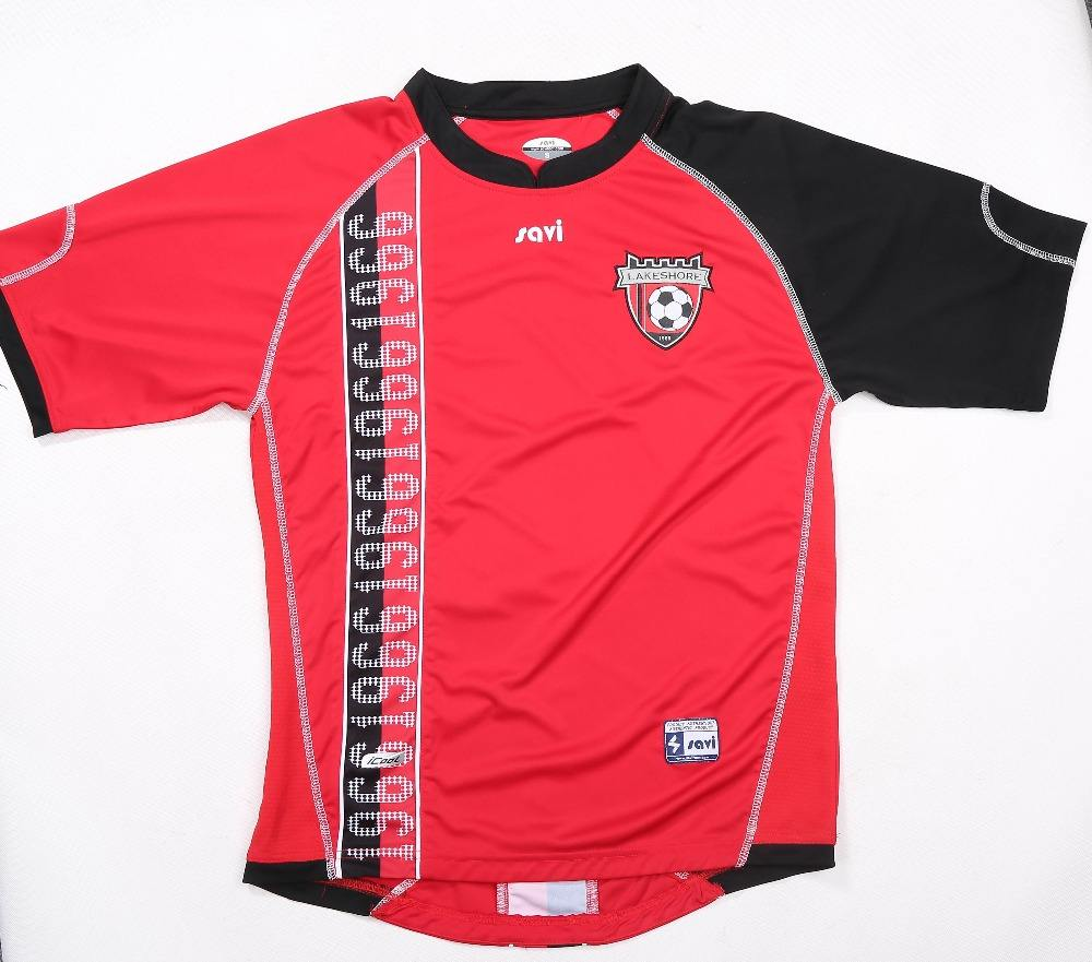 China Guangzhou Top Quality Soccer Uniform Jersey Set, Custom Soccer Jersey For Team