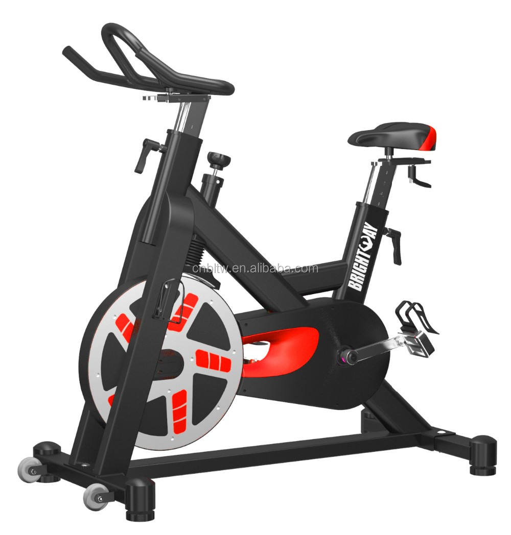 Indoor bicycle for commercial use Made in China Gym bicycle Indoor exercise bike body building machine