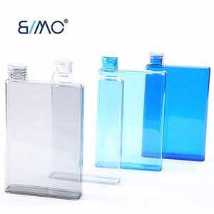 Mini Notepad Bottle Notebook Bottle Flat Portable Bpa Free For School Activity Outdoor Sports Water Bottle