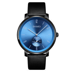 2018 Wholesale skmei Brand Luxury Mens Watch Waterproof Fashion Sport Quartz Wristwatch Male Leather Man Watch