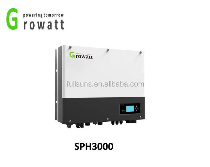 3KW max điện năng lượng mặt trời ít mppt inverter với được xây dựng trong <span class=keywords><strong>pin</strong></span>