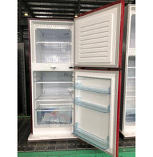 different color BCD-175 double door fridge for home kitchen appliance with high quality