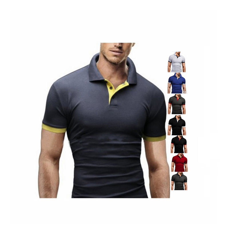 Wholesale Customized oem logo Cotton Polo Shirt In Men's Polo T Shirts