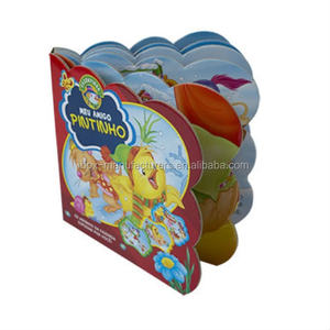 Small mass customization children activity board picture books children's book printing offset