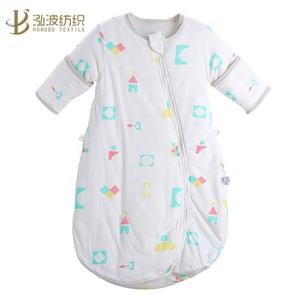 100% Cotton Cozy Baby Muslin Wearable Blanket Sleeping Bag Sleep Sack for Fall Winter 4 layers