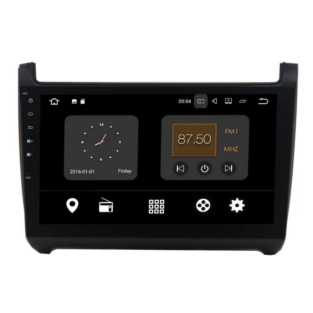 2din 10.1 inch cảm ứng đầy đủ Android 7.1.2 car dvd player gps dvd automotivo, car dvd player cho vw polo/