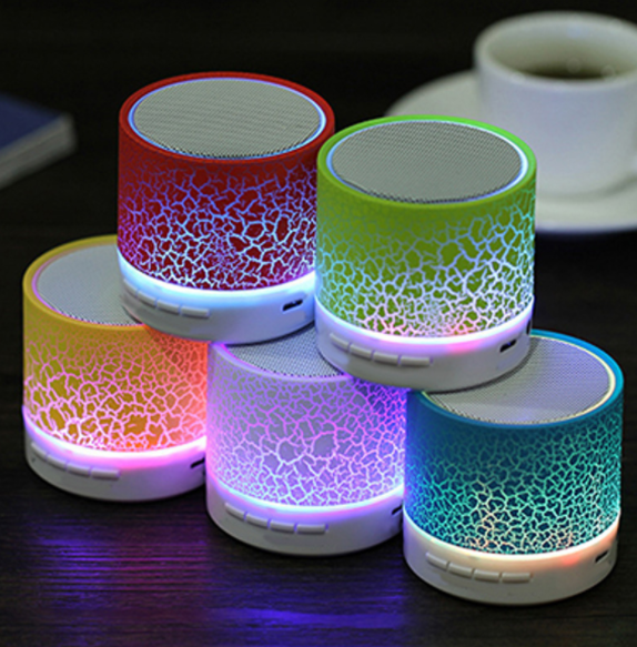 Melhor A9 LED Speaker Bluetooth Mini Speakers Hands Free Wireless Speaker Portátil Com Cartão TF USB Mic Music Player de Áudio