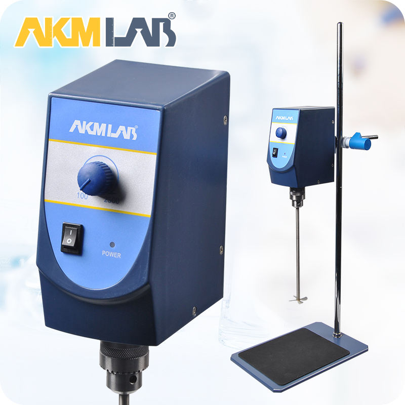 AKMLAB Laboratory Mixer Electric Overhead Stirrer With Digital Display