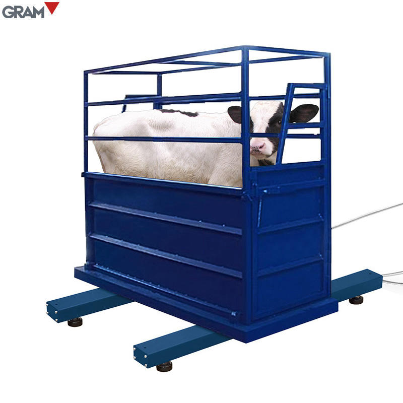 1.5T Industrial Animal Weighing Scales Cattle Scale