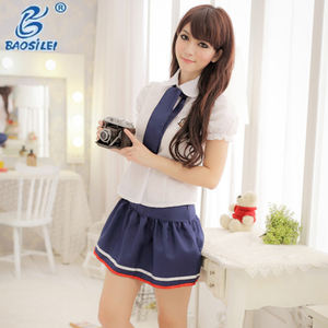 Best Selling Sexy Student Party Wit Sexy Schooluniform Rok