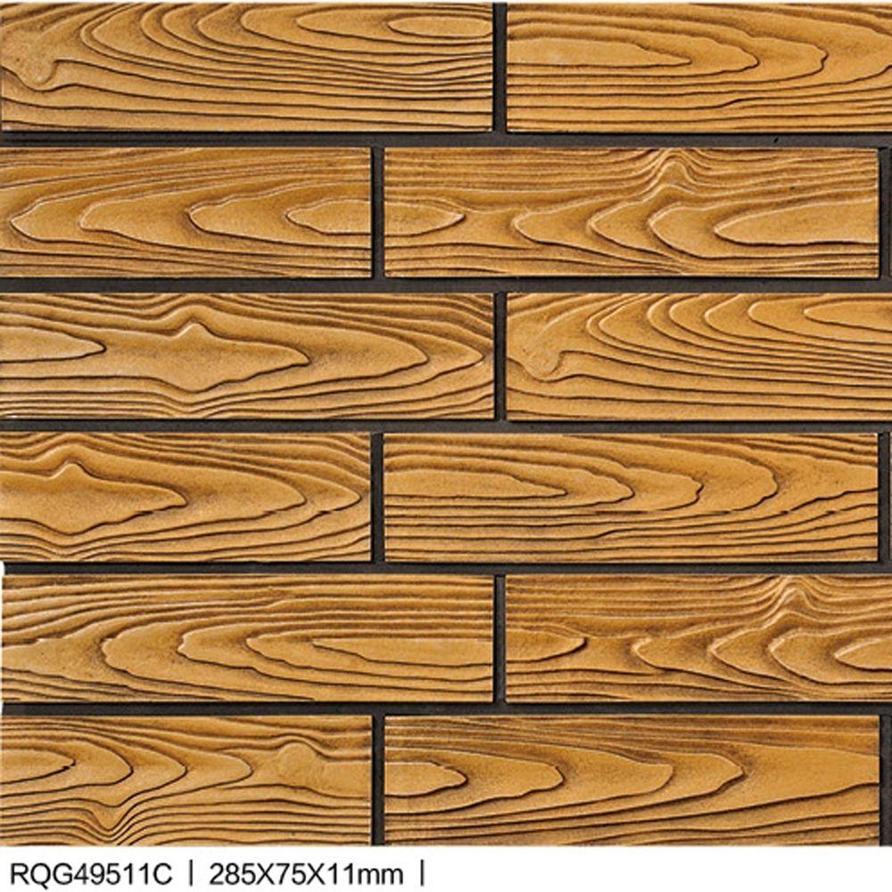 نظرة الخشب البلاط الطوب الصخري سحابة الخشب الخزف بلاط الجدران للخلفية للفندق وفيلا زخرفة البناء