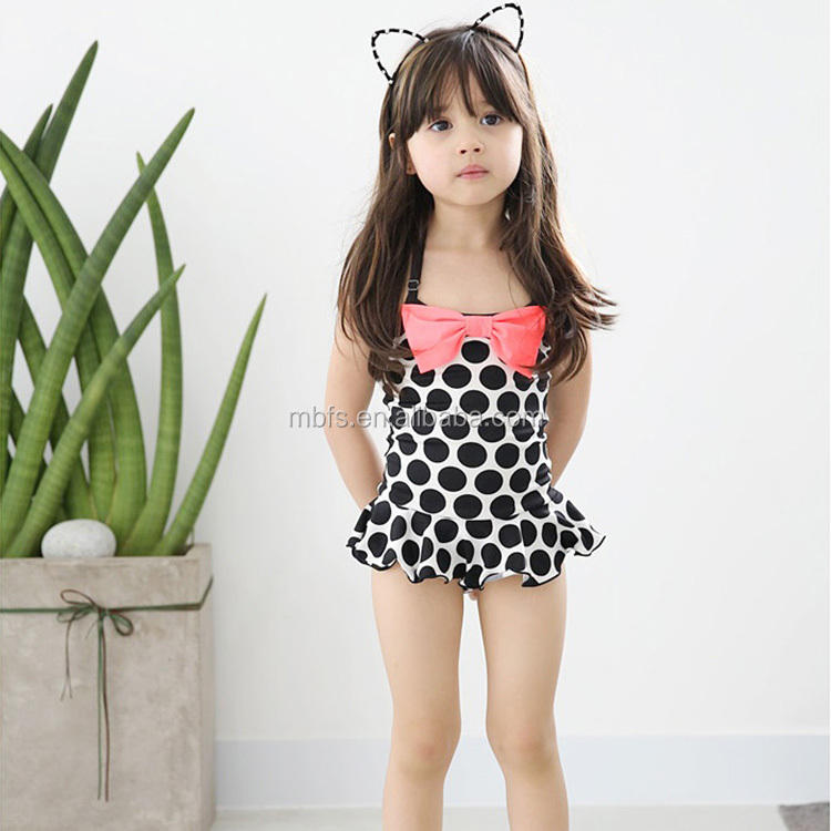 child swimsuit models one-piece swimsuit