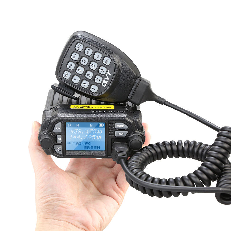 Long Range Mobile Radio Basis QYT Walkie Talkie 25 km Dual Band QYT KT-8900