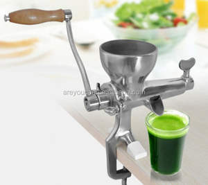 Silver Wheatgrass juicer/ mini orange juicer machine for factory price