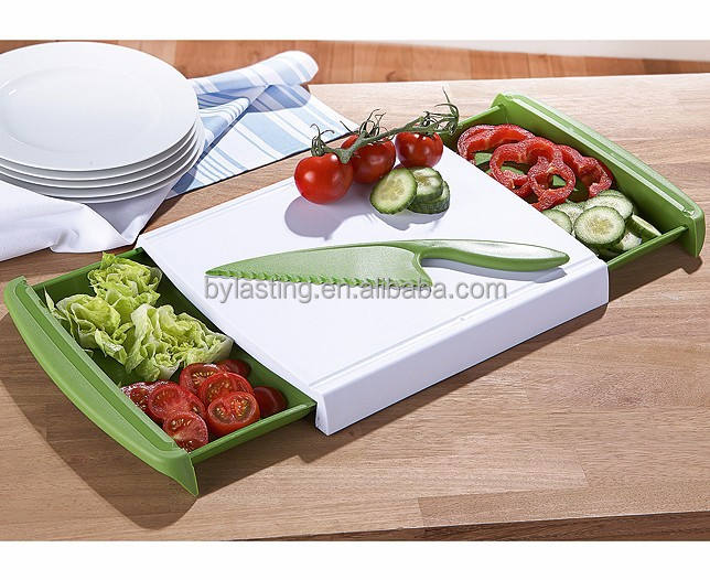 플라스틱 Chop 및 Clear Cutting Board