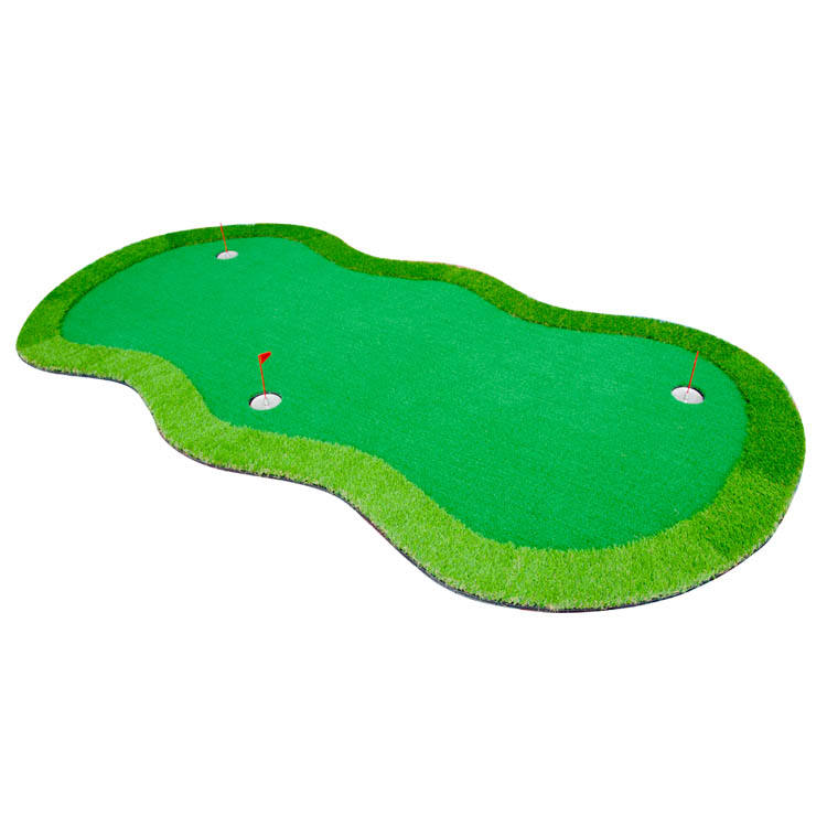 Synthetic turf grass lawn landscape putting green indoor carpet