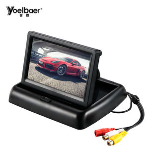 Promotional Hot Folding 2 Din 4.3 inch LCD TFT Car LCD Monitor Mini TV