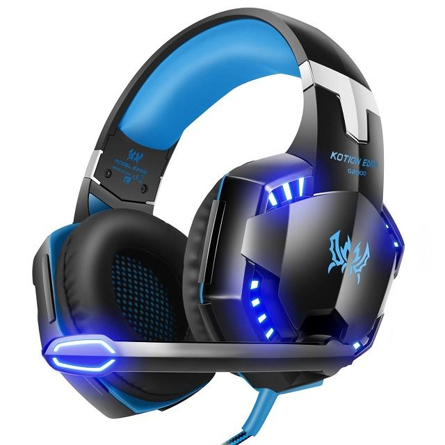 Kotion each G2000 wired headset gaming headphones earphones for PS4