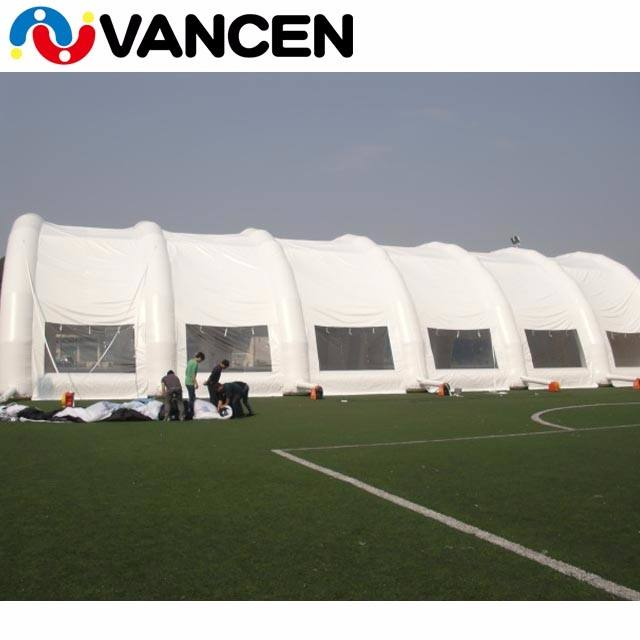 30x60m inflatable tent for football field, inflatable construction tent, inflatable tent for event