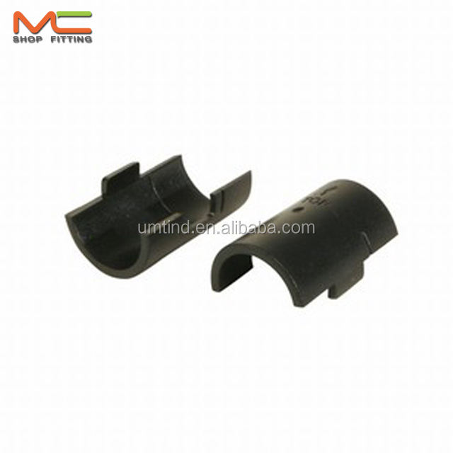 Plastic clips for 25mm & 19mm post of wire shelving