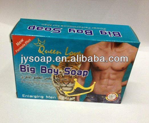 Queen Love big boy--men soap