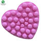 China Factory Customized Heart Shape Rose silicone cake bake mold for chocolate