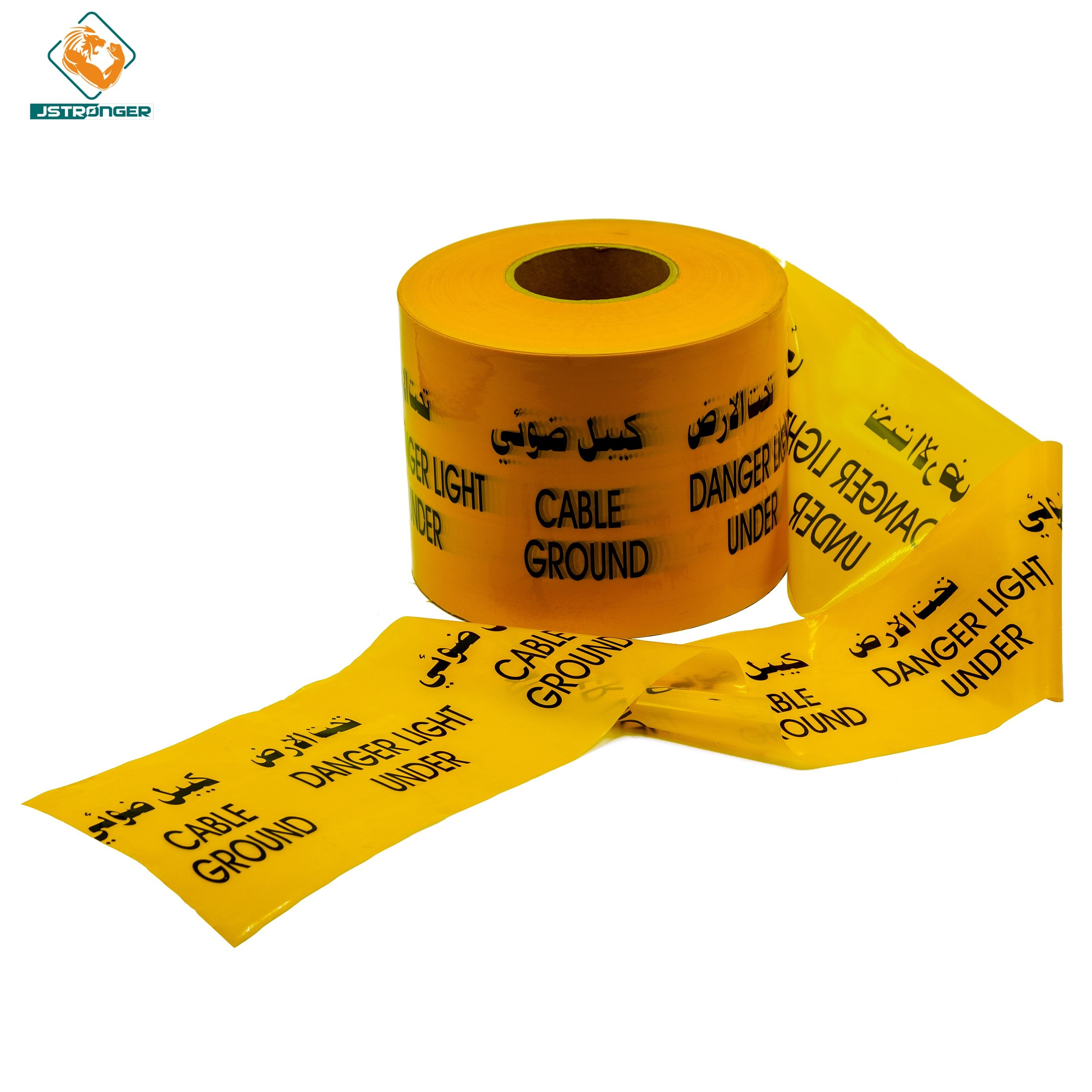 Factory Supply Custom Printed Barrier Tape Caution Underground Safety Warning Tape barrier tape