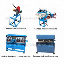 Bamboo chopstick making machine / round chopsticks processing processing line