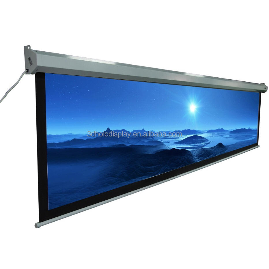 250 Inch Motorized Projector Screen,Large Electric Projection Screen