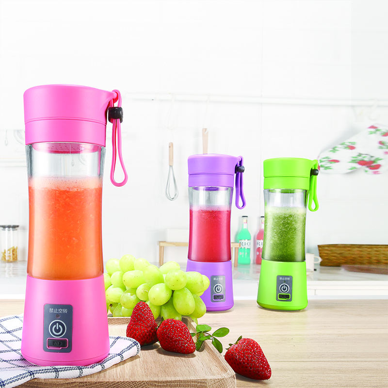 Tragbare mini smoothies mixer elektrische obst entsafter