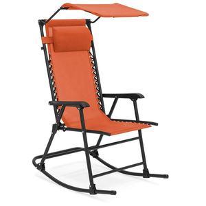 Amazon Walmart De Hierro De Metal Plegable Silla Plegable Balancín Con Almohada De Patio Al Aire Libre Muebles