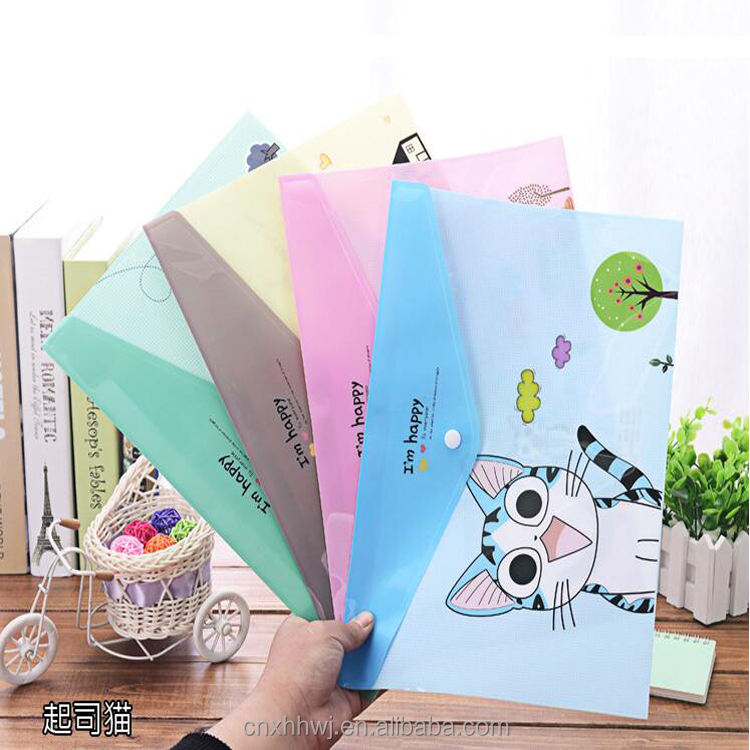 China Manufacture custom printed a4 size manila file folders