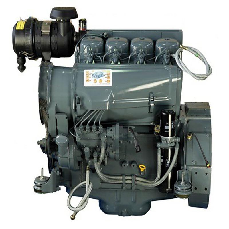 CE certificate 4cylinder air cooled Deutz series engine F4L912 for construct machine diesel engines parts supplier