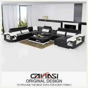 Venta de muebles de cebu city conjunto, marco de madera clásico sofá de cuero, sofá cama mecanismo de piezas