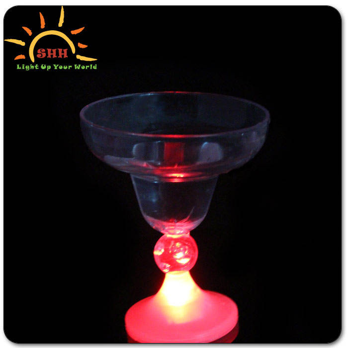 2015 Hot Selling Light Up Barware China Factory Wholesale Flashing Led Goblet Product