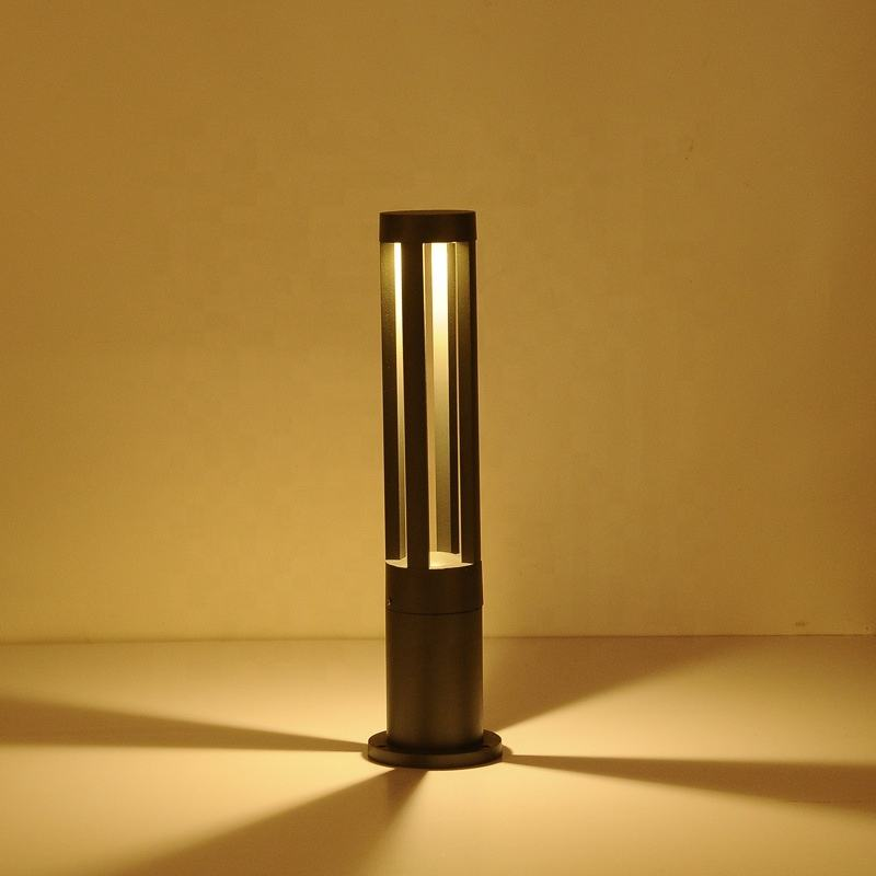 กันน้ำกลางแจ้ง Yard Garden Walkway 5W Led Bollard Light Garden