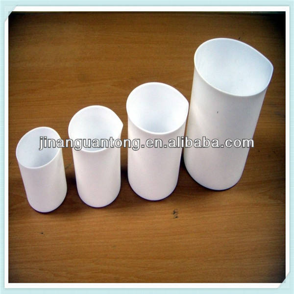 100% vierge, blanc, ptfe tiges en plastique blanc de moulage tige en ptfe ptfe rod