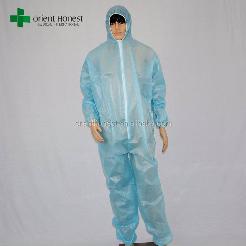 Wholesale disposable clothing waterproof paintball coverall
