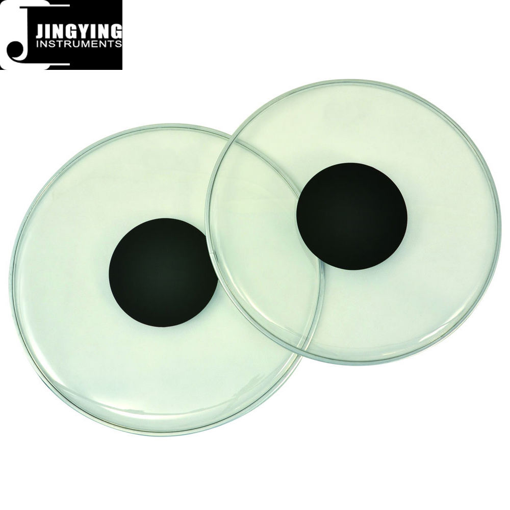 Wholesale Mylar Material Black Dot Clear Drum Heads/Drum Skins
