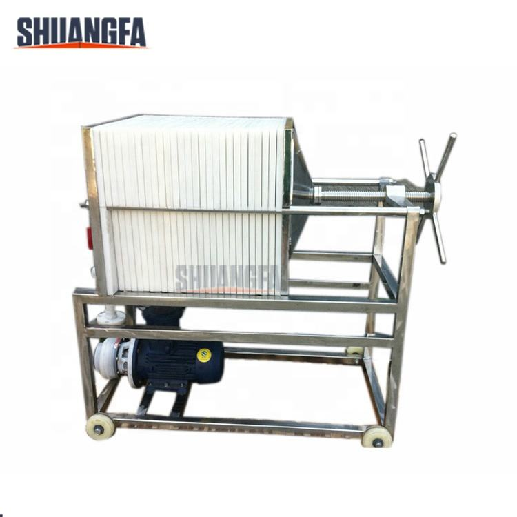Grape Wine Plate Frame Filter Machine With High Quality